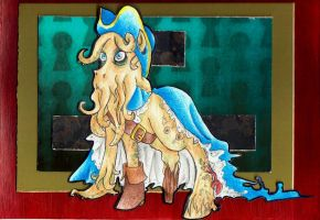 Davy Jones pony by CaptainDunkenstein