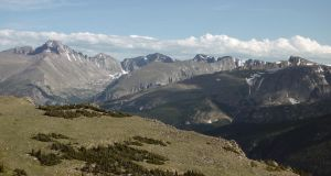 Peaks of Rocky Mountain National Park by PamplemousseCeil