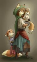Commission: Family Heirlooms by Robo-Shark