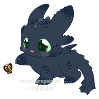 .:Baby Toothless:. by PhantomCarnival
