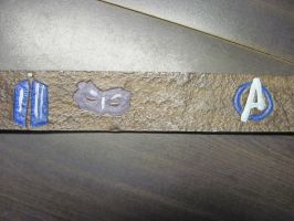 Leather Fandom Logo Belt 4 by marauderfaze