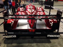 SKYACTIV Mazda Prototype racing car by geovailpintor