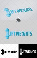 Lift Weights vector logo by Szesze15