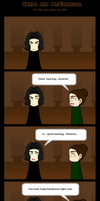 Snape and McGonagall- comic by gilll