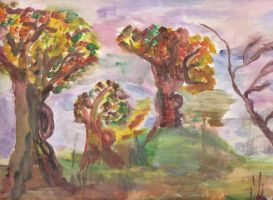 Some trees by Andut