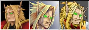 Blood Elf Icons by AIBryce