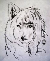 Peace-Wolf Within by Peace-Wolf