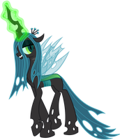 Queen Chrysalis by Proenix