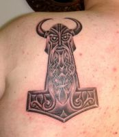 Viking Art Thorshammer 5 by DarkSunTattoo