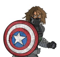 The Winter Soldier Finished design by DarksiderXZero