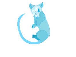 Snowball the Ghost Possum by PhycoTeddy000