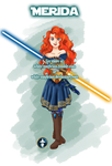 Jedi Disney Princess Merida by White-Magician
