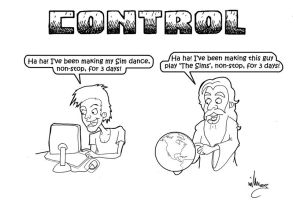 The Sims - CONTROL by The-Hellish-Gnome