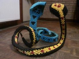origami cobra  The story of the snake demon by kamui487