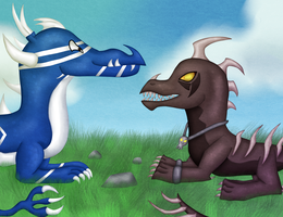 Collab: Gerbygup by TheLeatherDragonI