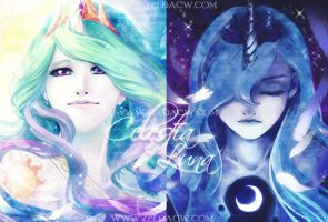 Portrait of the Princesses by zeldacw