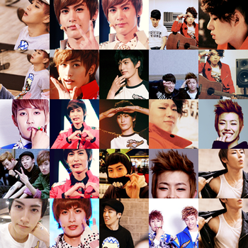 64 Block B icons by sylvertear