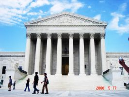 Supreme Court Of Washington DC by Darkprincess92