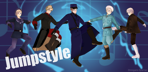 Jumpstyle: Nordic 5 by Shinigami-Spartan
