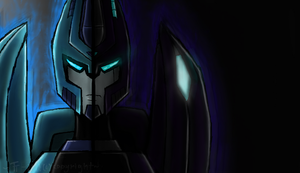 Blurr's two sides by Primeval-Wings
