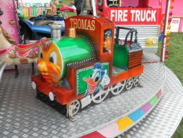 Thomas the tank engine by WhippetWild
