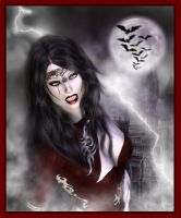 Woman vampire by ultraviolet1981