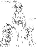 .:. Mommy and Children .:. by vampheria
