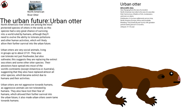 Urban Future - Urban otter by dylan613