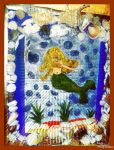 little mermaid INGE collab by ingeline art and mia by miapicassa