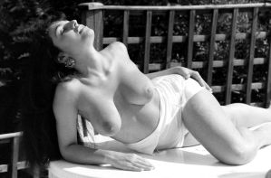 Patio Pinup 1994 by Londonglamourtog