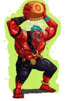 Streetfighter Hakan by Crew1