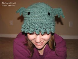The Original Cthulhu Toque by pinktoque