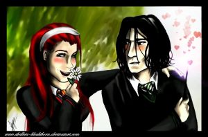 lily and severus by Blackthorn-Studios