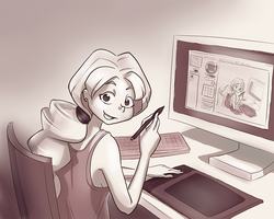 Intuos4 test by CGrey