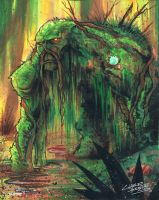 marker: Swamp Thing by KidNotorious