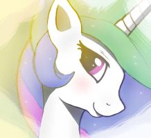 ...MLP FIM  Celestia icon... by Joakaha