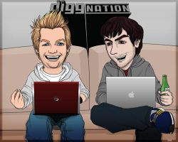 diggnation by flangeloni