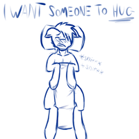 Someone To Hug by BlueRaveMod