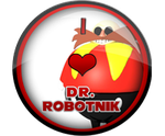 I Love Dr. Robotnik Badge by darkfailure