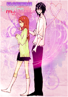 Orihime x Ulquiorra by Chrome-Asakura