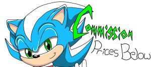 Commision banner by ChaosCat01 by Supersonic4ever