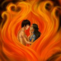 Burn With My Flame by Berende