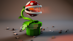 Piranha Plant - SMB Wallpaper WIP by unscenemedia