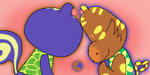 When Tiger and Squirrel Love Each Other Very Much by NukeKioh