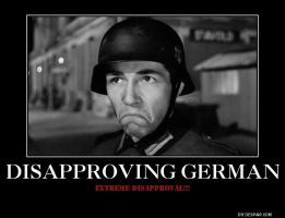 Disapproving German by Kooshmeister