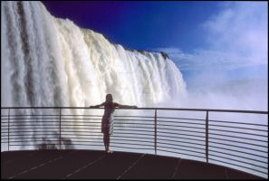 Carmen at Iguazu Falls by alfred0708
