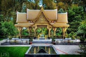 Thai Sala -pavilion- by electricdream