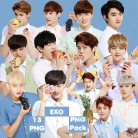 EXO's PNG Pack {IVY Club 2014 Part.2} by kamjong-kai
