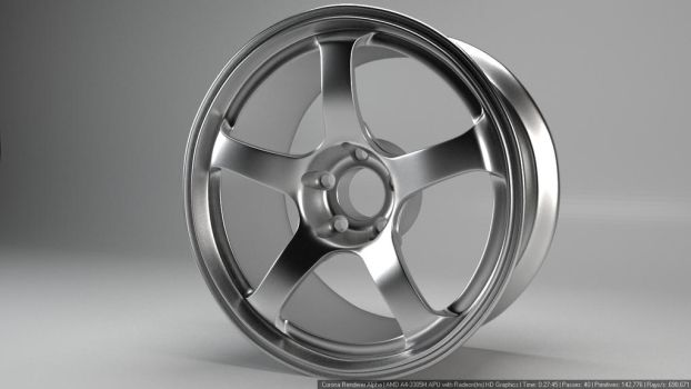Advan TC3 Rim by bigsheepNAP
