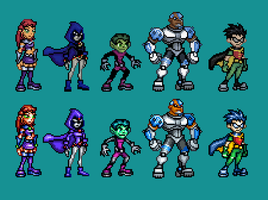 Teen Titans Redone by Supersonicus